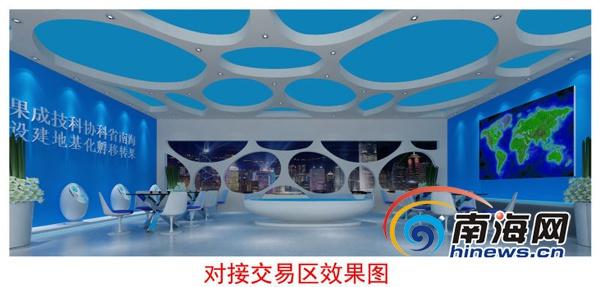 4月26日,海南省首个科技成果转移孵化基地项目正式启动。(图为项目效果图)