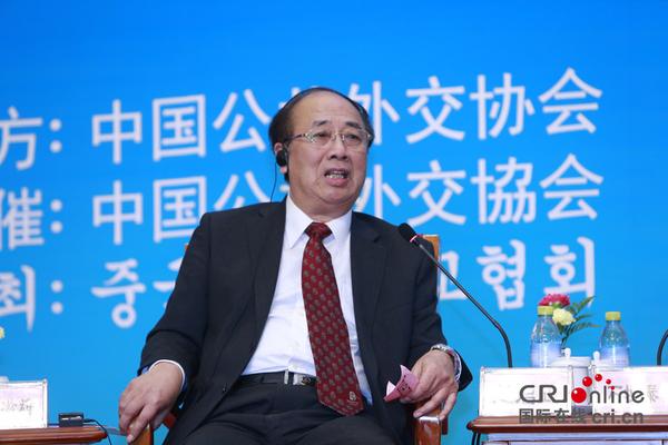 赵启正:中日韩在安全,朝鲜半岛问题上有共同利益