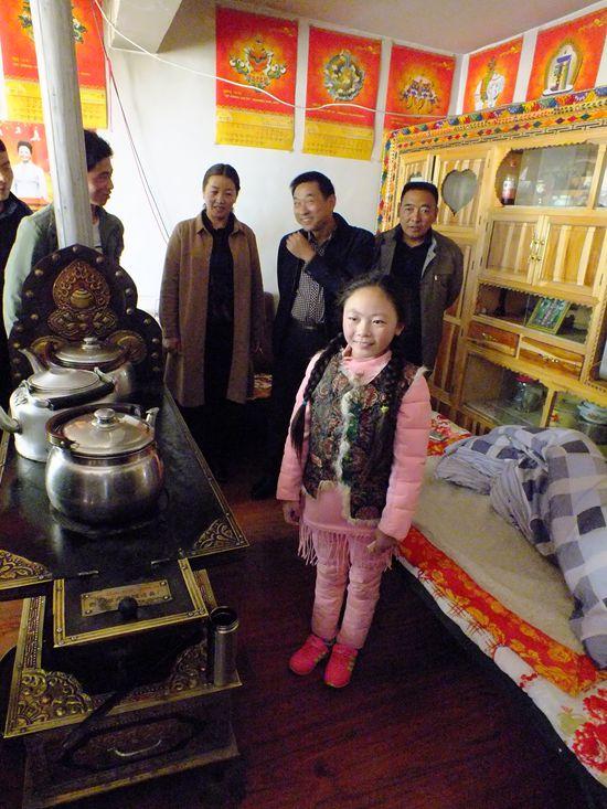 藏族家庭客厅图片大全