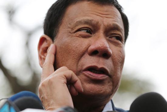 菲律宾当选总统杜特尔特(资料图)
