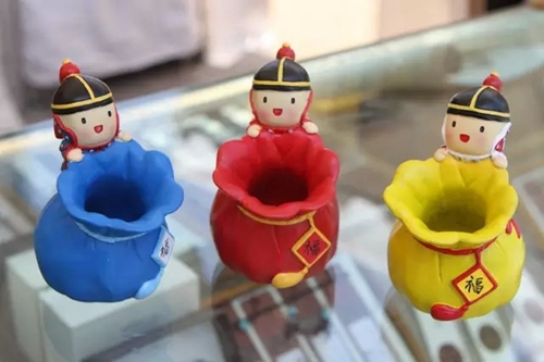 沈阳故宫博物院推出q版八旗人物文创产品