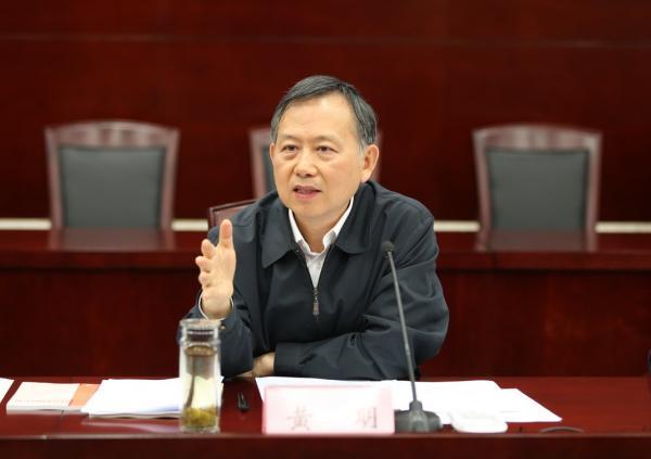 公安部领导班子调整:副部长黄明明确为正部长级(图)