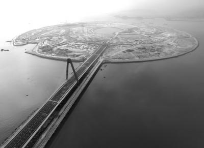 原标题:双鱼岛大桥通车