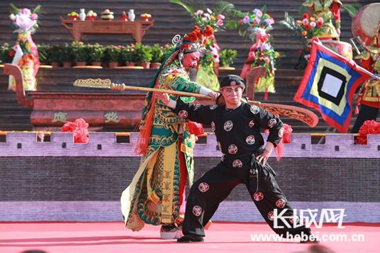 汉剧院关公戏剧表演。 照片来源:荆旅集团