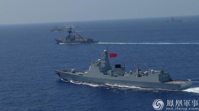 直击环太之六:中美神盾联合防空 美称中国表现精彩