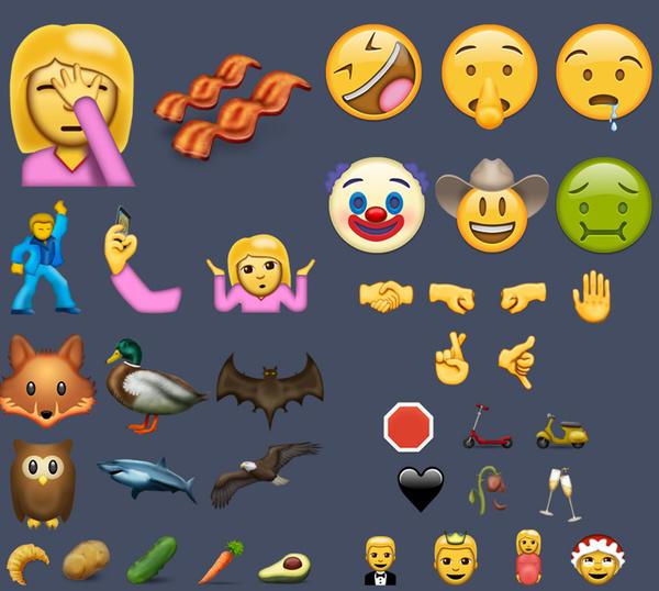 喜闻乐见的emoji表情