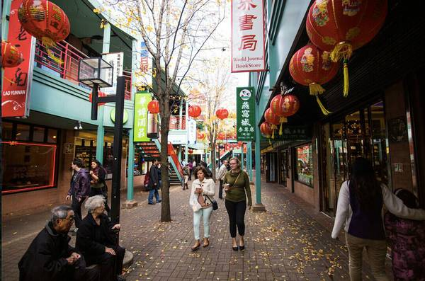 旅行线路:唐人街。