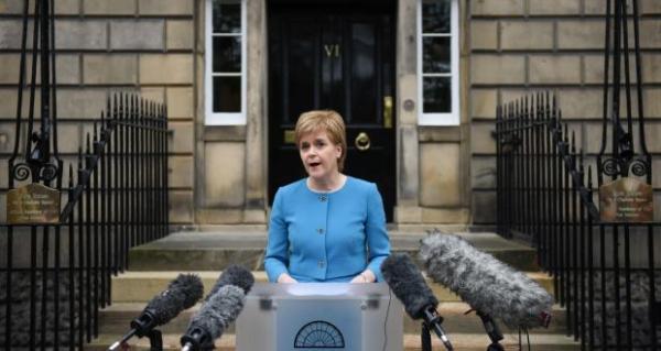 苏格兰启动二次独立公投立法准备,寻求脱英并