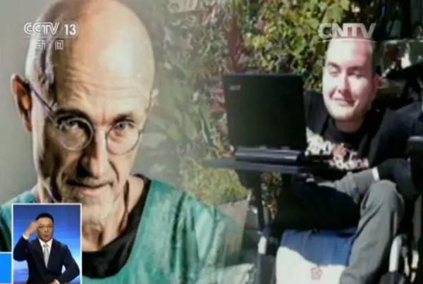 图片右边的人叫瓦雷里·多诺夫,俄罗斯人,是一名计算机工程师,很不幸,天生就患有脊髓性肌肉萎缩症。图片左边的人叫塞尔焦·卡纳韦罗,是意大利的一名神经外科专家。