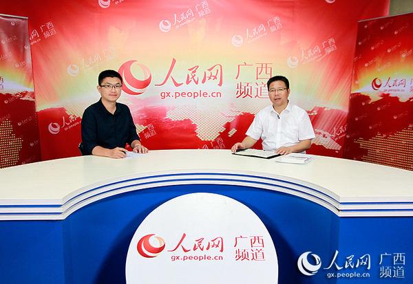 广西财经学院校长夏飞接受人民网专访