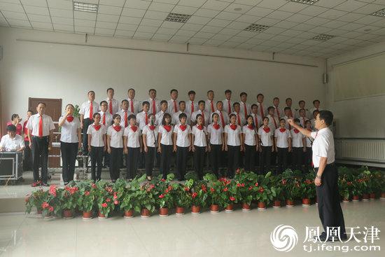 """天津市武清区大王古庄镇举办""""迎七一""""歌咏比赛"""