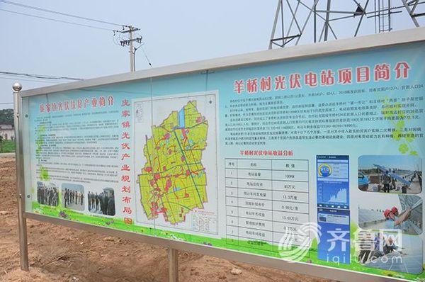 羊桥村光伏发电项目简介