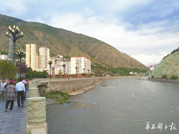 宁静的金川县城当年曾是藏清两军血战之地。