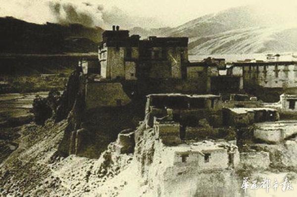 藏军对付外敌的堡垒(资料图片)
