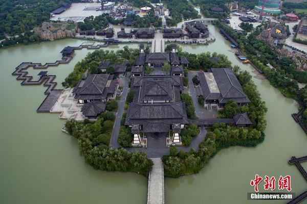 航拍中国上海