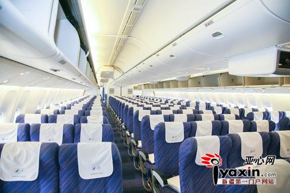 南航进出疆航线使用的空客330飞机固定执行乌鲁木齐-北京航线.