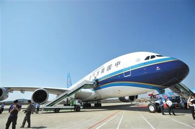 南航767 国际飞机座位