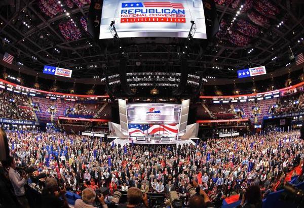 大会充满了赞美特朗普和攻击民主党的言论,但在这背后,却是共和党乃至