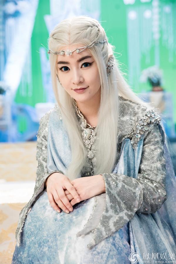 李晟《幻城》剧照曝光 化身冰族王妃华丽上线