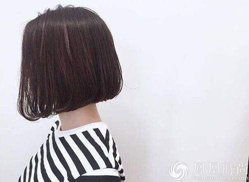 齐肩短发发型图片图片