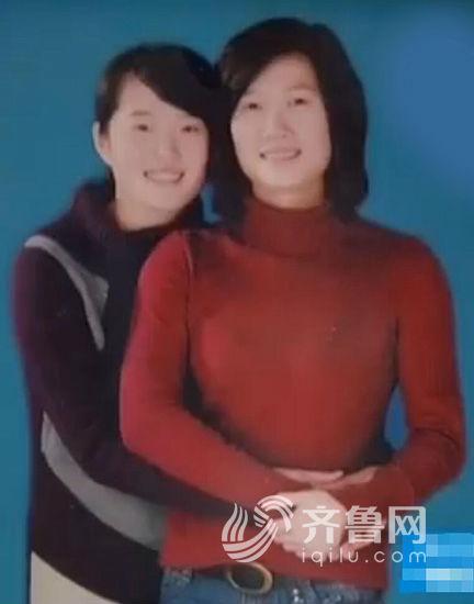 姐妹俩的生活照。(视频截图)