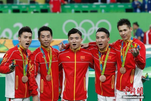 中国队在里约比赛