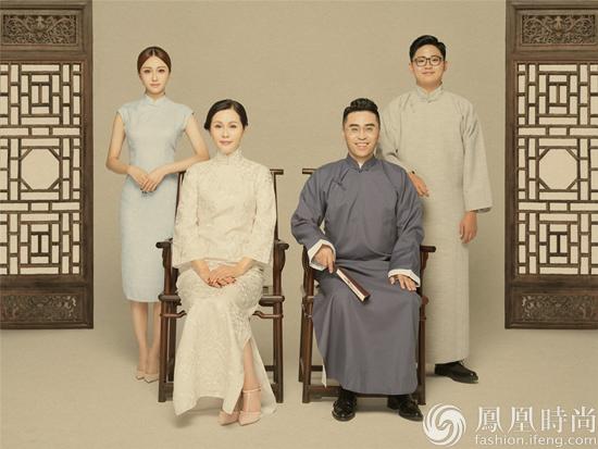 陈冰七夕节晒四人全家福 感动于父母爱情自爆