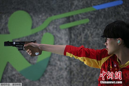 奥运男子25米手枪速射:李越宏夺铜 张富升第四