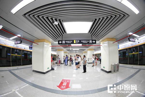 郑州地铁2号线8月19日开通试运营