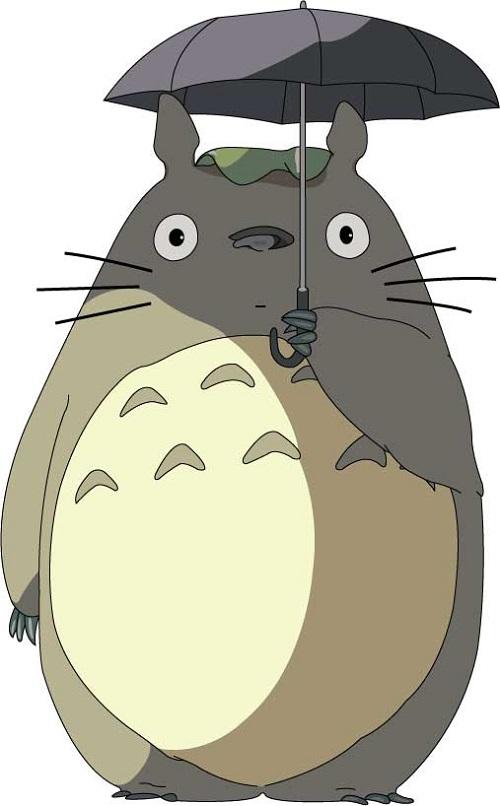 简笔画卡通人物龙猫