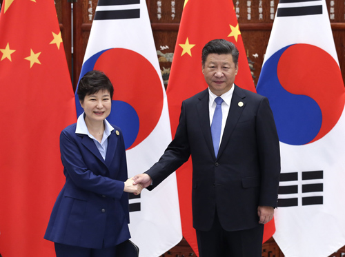 虽然韩国总统朴槿惠