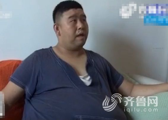32岁男子身高1米76,体重却高达327斤