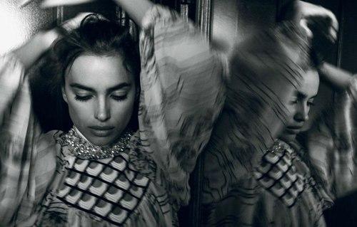 俄罗斯超模时尚大片 神秘气质尽显魅惑图片