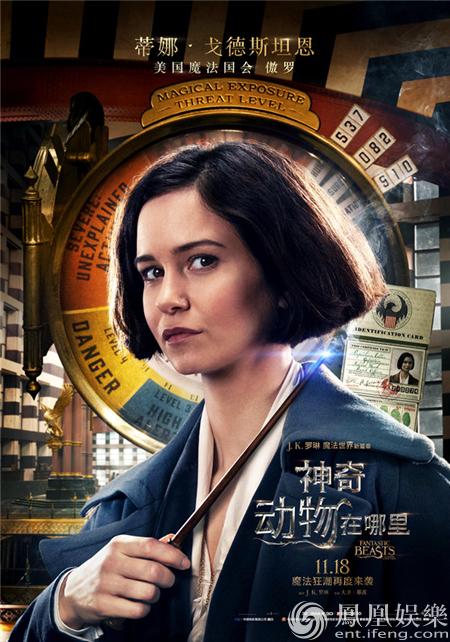 《神奇动物在哪里》曝中文海报 背景暗藏剧情