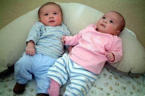 圈内明星们的双胞胎儿子呆萌可爱 最后一对神似岳云鹏