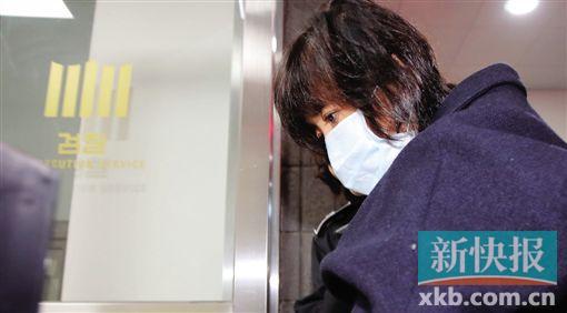 ■崔顺实被韩国警方紧急逮捕。CFP
