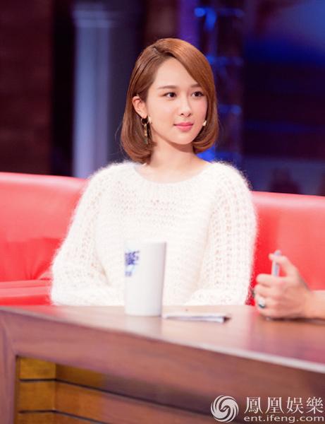 杨紫首谈恋情 因长得不够漂亮宋丹丹曾提点她不要进娱乐圈