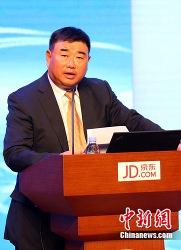 京东总裁_京东集团执行副总裁蓝烨做主题演讲