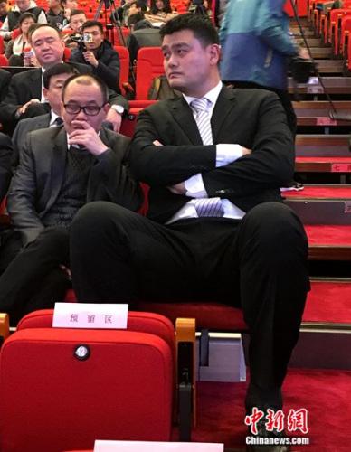 CBA俱乐部投票选出上海东方俱乐部投资人姚明担任CBA公司副董事图片