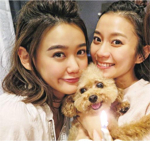朱韵韵(左)与杨爱瑾(右)同样是好朋友