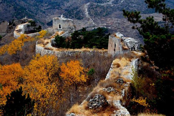 白羊峪长城位于唐山迁安市,始建于北齐,明朝初期,徐达置修筑关口城