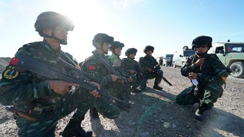 俄媒 中国特种部队欲学车臣反恐经验 打击亡命之徒图片