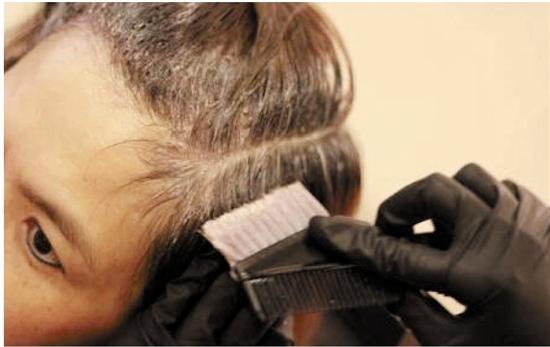 染发怎么分步骤图解