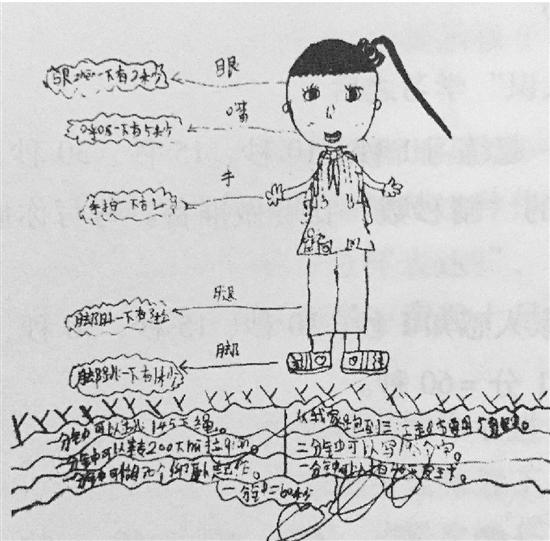 数学中可爱的小猫简笔画