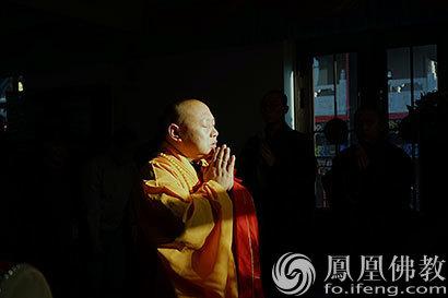 弥陀圣诞哈尔滨极乐寺举办三时系念法会