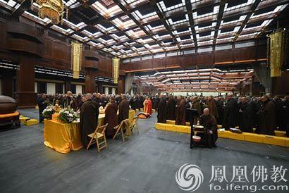 2016年东林寺冬季佛七施食法会 四众弟子千人参加