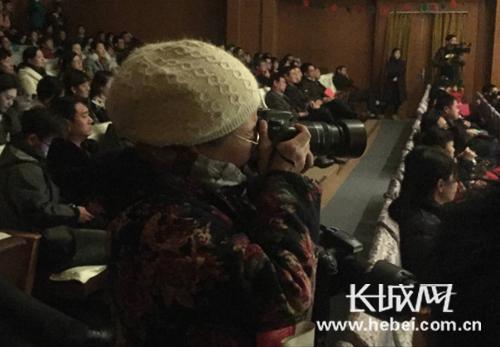 长城网网友用镜头记录节目的精彩瞬间。张雅鑫 摄