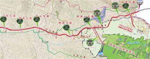 江习高速重庆段预计2018年建成。图片来自网络