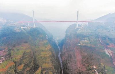 滚动新闻  12月29日,横跨贵州省六盘水市都格镇和云南省宣威市普立乡