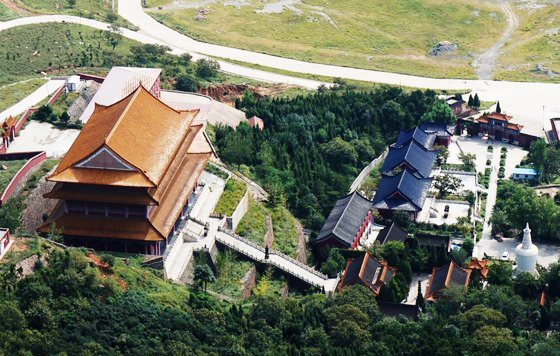 唐山迁安灵山白塔寺,图片来源于网络